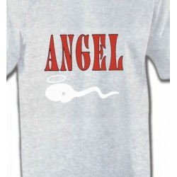 T-Shirts Humour/amour Humour Angel (Z3)