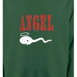 Sweatshirts Humour/amour Humour Angel (Z3)