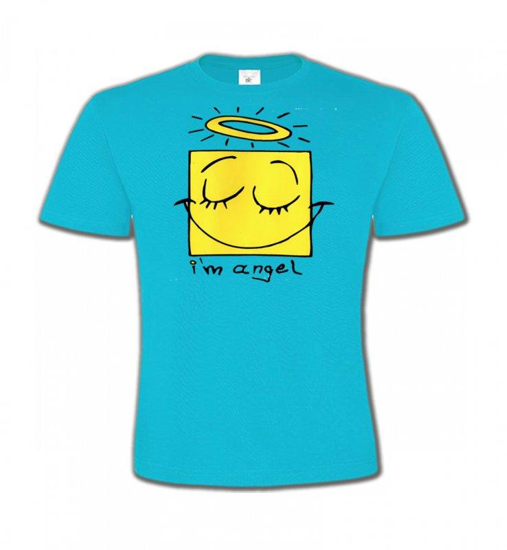 T-Shirts Col Rond EnfantsHumour/amourHumour je suis un ange (X3)