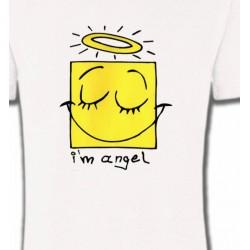 T-Shirts Humour/amour Humour je suis un ange (X3)