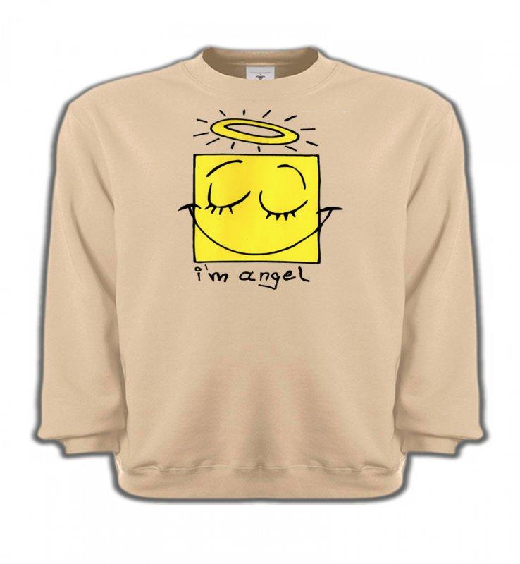 Sweatshirts EnfantsHumour/amourHumour je suis un ange (X3)