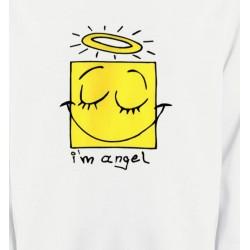 Sweatshirts Humour/amour Humour je suis un ange (X3)