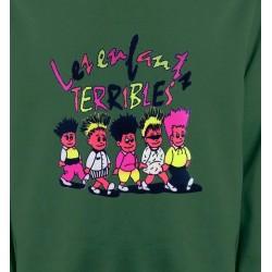 Sweatshirts Humour/amour Les enfants terribles