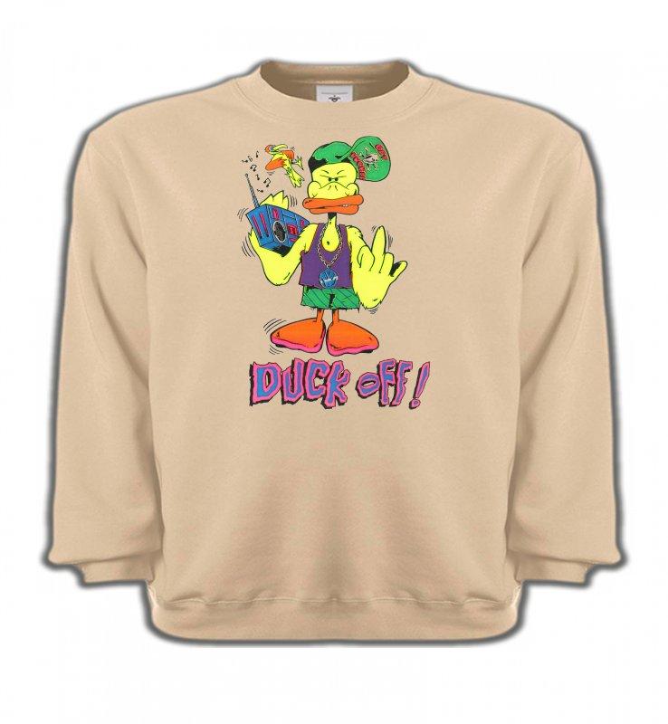 Sweatshirts EnfantsHumour/amourDuck off