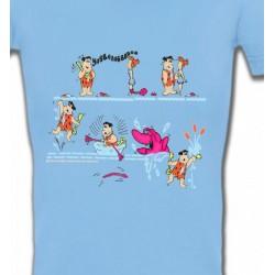 T-Shirts Humour/amour La famille Pierre à Feu (A)