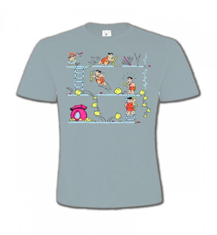 T-Shirts Col Rond EnfantsHumour/amourLa famille Pierre à Feu (B)