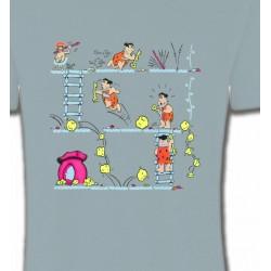 T-Shirts Humour/amour La famille Pierre à Feu (B)