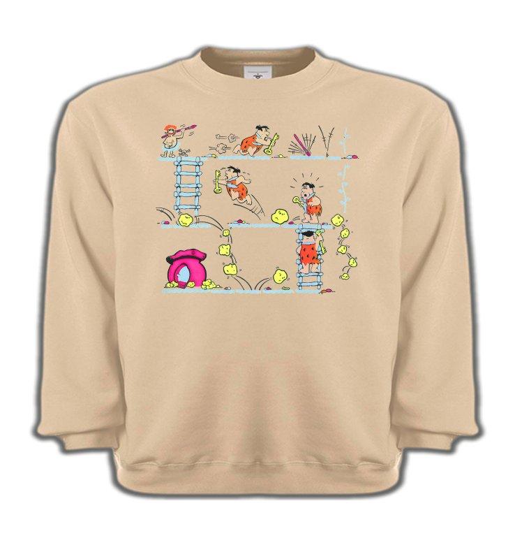 Sweatshirts EnfantsHumour/amourLa famille Pierre à Feu (B)