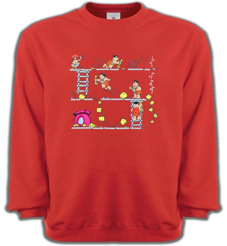 Sweatshirts UnisexeHumour/amourLa famille Pierre à Feu (B)