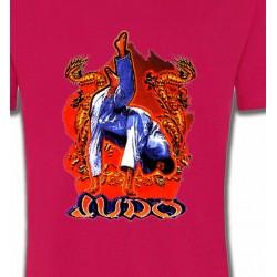 T-Shirts Sports et passions Judo