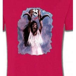 T-Shirts T-Shirts Col Rond Enfants Rituel d'une indienne (F)