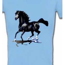 T-Shirts Cheval pur sang cheval noir (O)