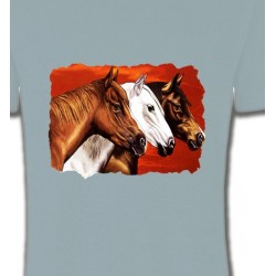 T-Shirts Cheval Têtes de chevaux (B4)