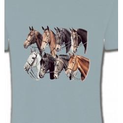 T-Shirts Cheval Têtes de chevaux (L2)