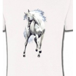 T-Shirts Cheval Le cheval blanc d'andalou (G2)