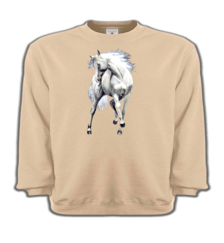Sweatshirts EnfantsChevalLe cheval blanc d'andalou (G2)