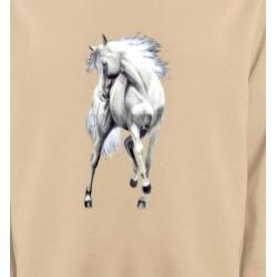 Sweatshirts Cheval Le cheval blanc d'andalou (G2)
