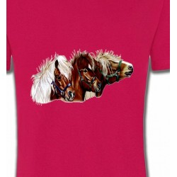 T-Shirts Cheval poney (X2)