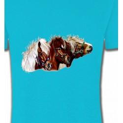 T-Shirts Cheval poney (X2)