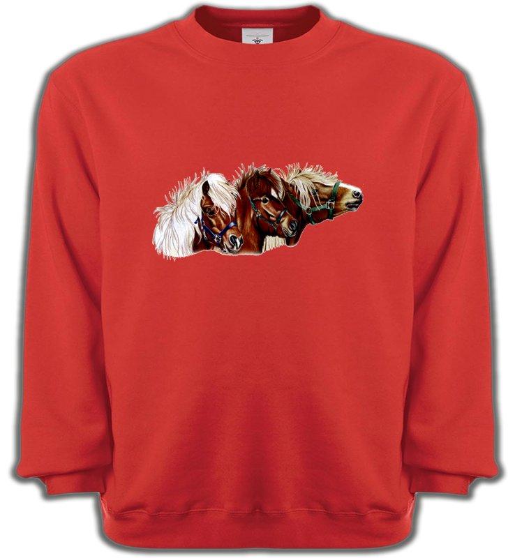 Sweatshirts UnisexeChevalponey (X2)