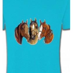 T-Shirts Cheval Chevaux (Y)