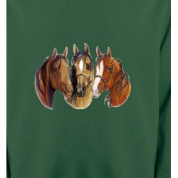 Sweatshirts Cheval Chevaux (Y)