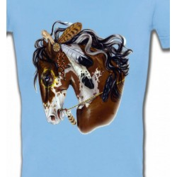 T-Shirts Cheval Cheval indien (H2)