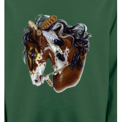Sweatshirts Cheval Cheval indien (H2)