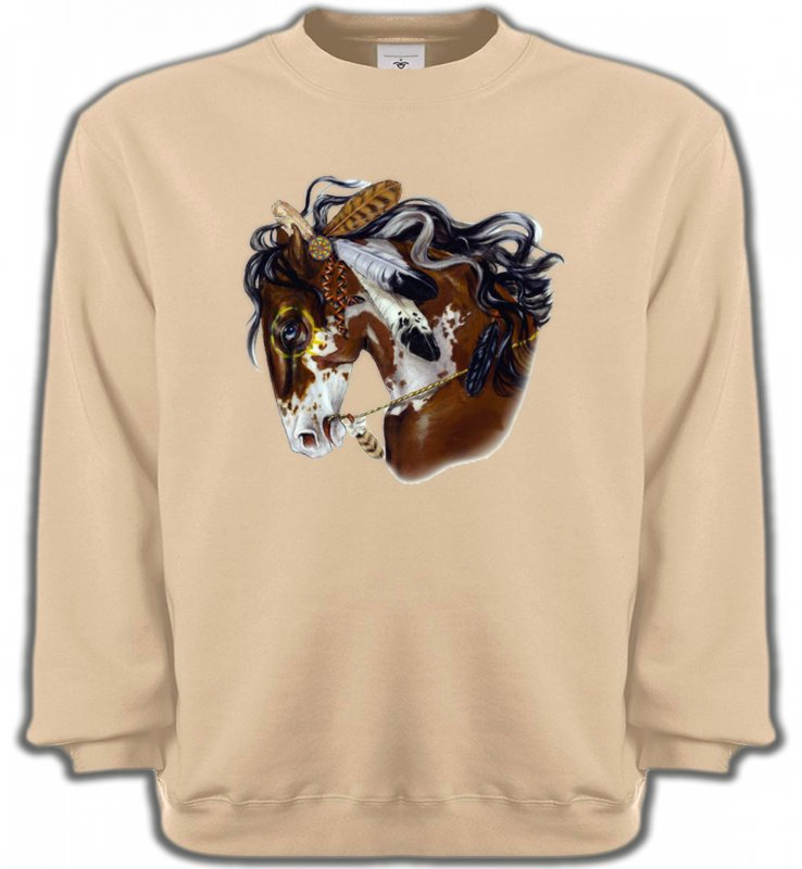 Sweatshirts UnisexeChevalCheval indien (H2)