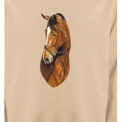 Sweatshirts Cheval Cheval brun (J)