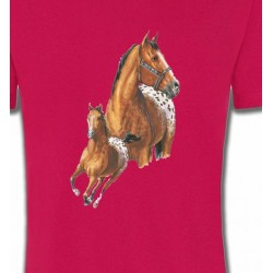 T-shirt cheval Appaloosa (G)