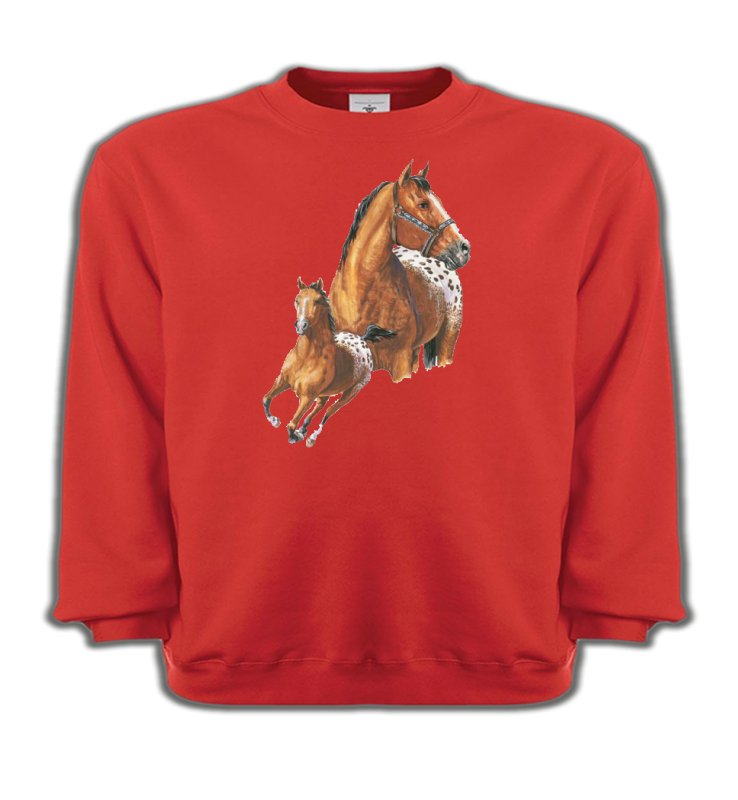 Sweatshirts Enfants Cheval T-shirt cheval Appaloosa (G)