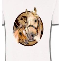 T-Shirts Cheval Têtes de chevaux (R)