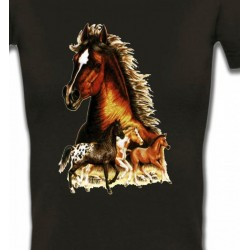 T-Shirts Cheval Chevaux (F)