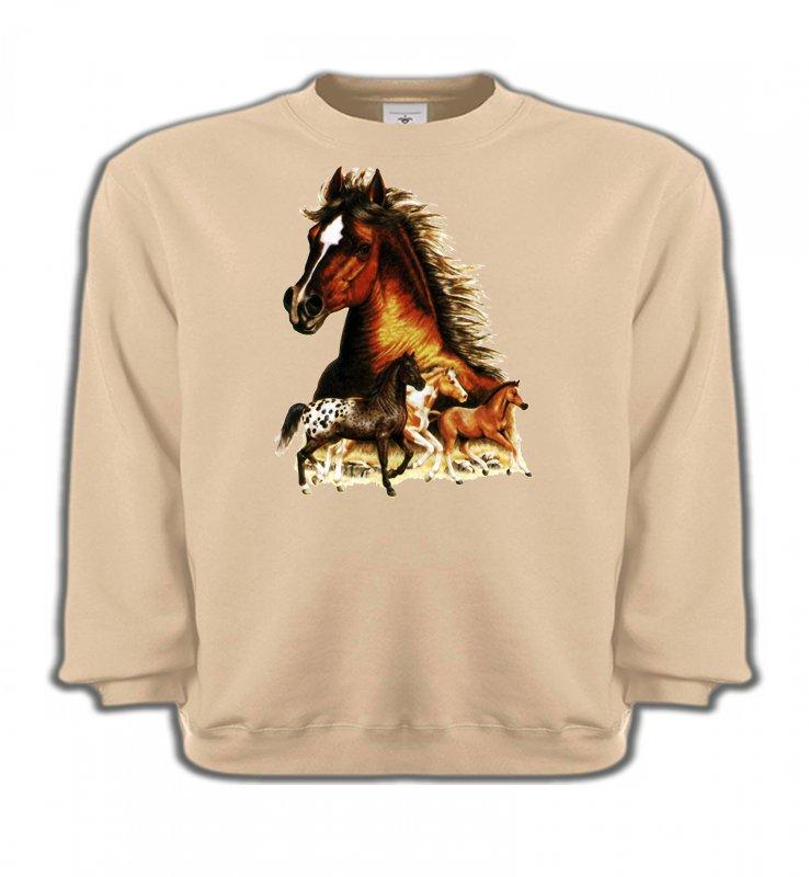Sweatshirts EnfantsChevalChevaux (F)