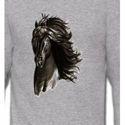 Sweatshirts Cheval Cheval noir