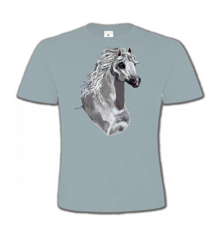 T-Shirts Col Rond EnfantsChevalCheval Blanc (T)