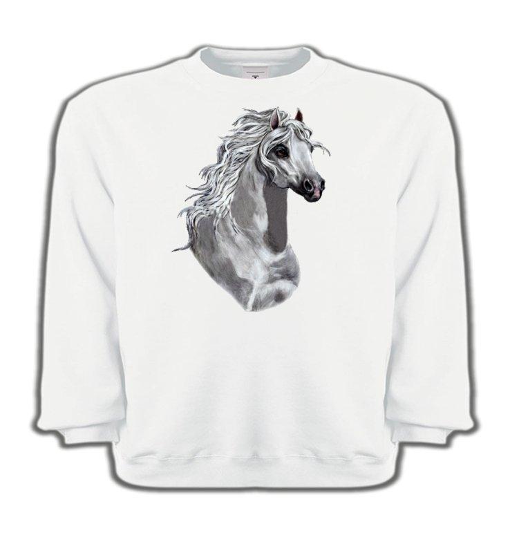 Sweatshirts EnfantsChevalCheval Blanc (T)