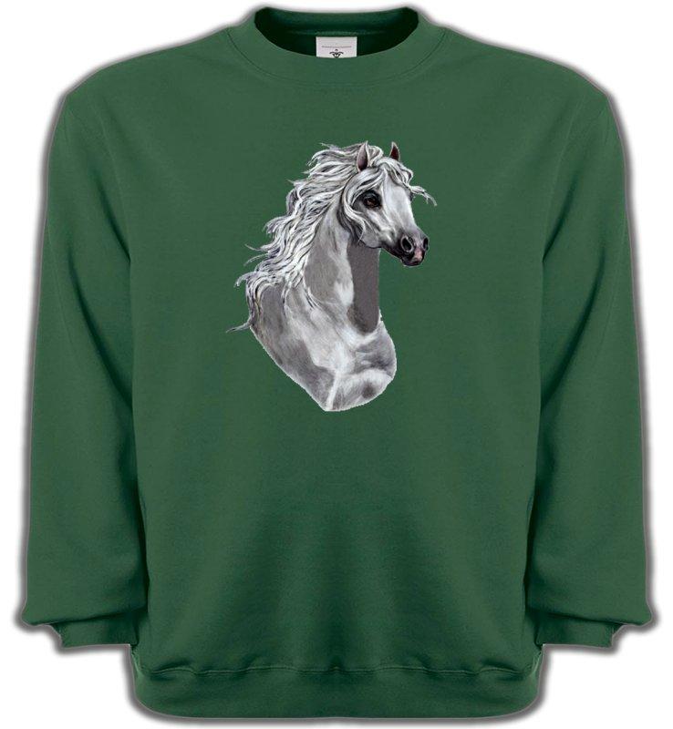 Sweatshirts UnisexeChevalCheval Blanc (T)