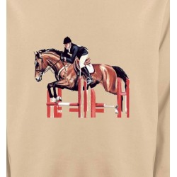 Sweatshirts Cheval Cheval d'equitation