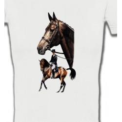 T-Shirts Cheval cheval dressage