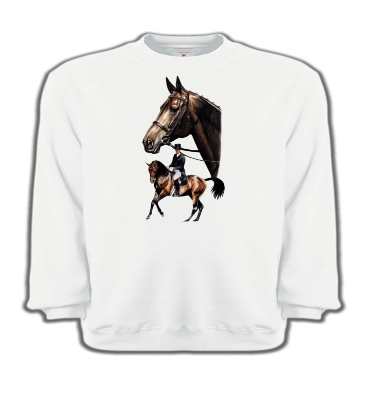 Sweatshirts Enfants Cheval cheval dressage