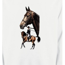 Sweatshirts Cheval cheval dressage