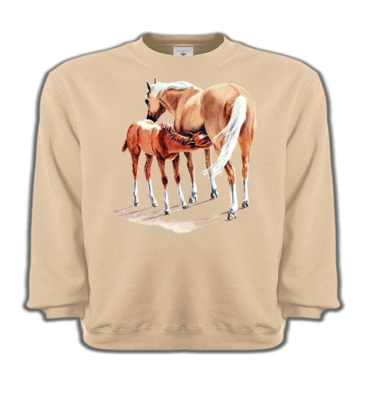 Sweatshirts EnfantsChevalCheval et poulain