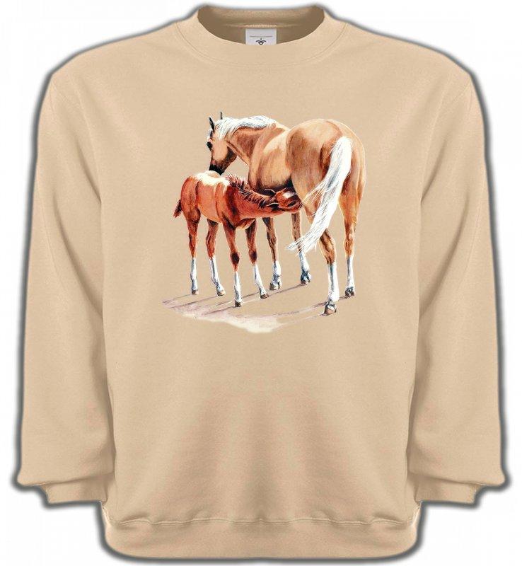 Sweatshirts UnisexeChevalCheval et poulain