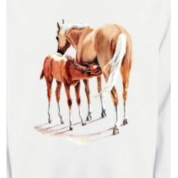Sweatshirts Cheval Cheval et poulain