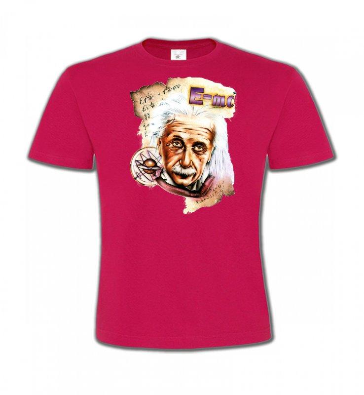 T-Shirts Col Rond EnfantsCélébritésAlbert Einstein