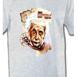 T-Shirts Célébrités Albert Einstein