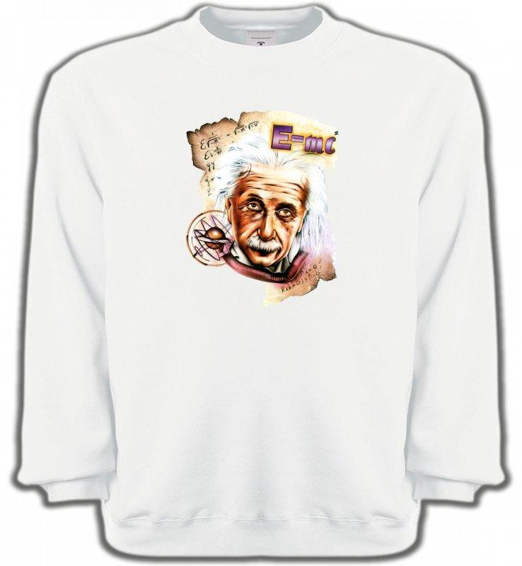 Sweatshirts UnisexeCélébritésAlbert Einstein