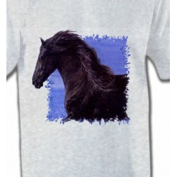T-Shirts Cheval Frison Cheval (N)